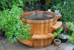 Badefass Badespaß Whirlpool Funktion Wellnessoase