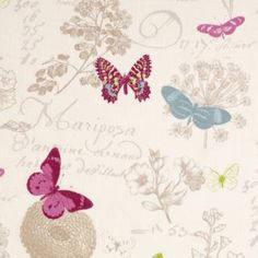 Arboretum Linen Fabric from Jim Lawrence