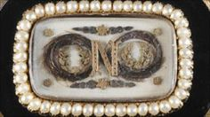 a piece of mourning  jewellery commemorating Napoleon  was sold by the auctioneer David Lay of Penzance in Cornwall, for the rather more modest price of £4000