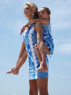 Lilly Pulitzer Ember Shift Dress & Little Lilly Shift in Good Reef