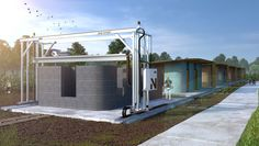 New Story Unveils First 3-D-Printed Home