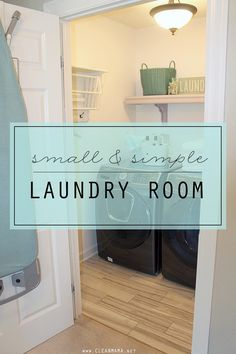 I'm slowly making it through my home tour this year and today I'm sharing my laundry room with you.  We just did a little redo of the teeny tiny space so I thought it would be a perfect time to share it with you.  You can see our previous laundry room in this post (with... (read more...)