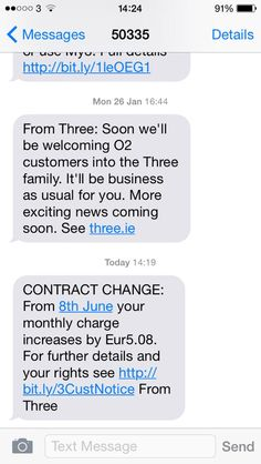 exciting news from Three Ireland...
