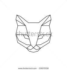 Resultado de imagen para geometric animals black and white