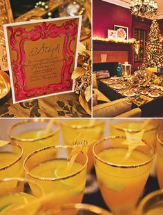 {Glitzy & Golden} Jewel-Toned Holiday Party