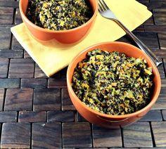 Healthy Vegetarian Quinoa Pilaf Recipe