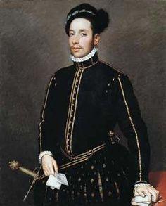 Portrait of a Gentleman (Il Gentile Cavaliere) by Giovanni Battista Moroni 1565