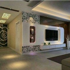 Tv Cabinet Design, Tv Wall Design, Tv Unit Design, Ceiling Design, Diy Cardboard Furniture, Cardboard Design, Tv Furniture, Tv Unit Decor, Tv Wall Decor