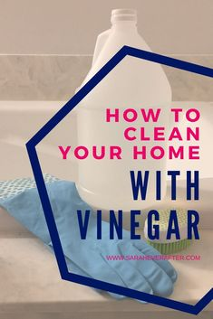 Looking for ways to clean your home naturally? Here's why vinegar is such a popular ingredient in diy cleaning recipes and how you should -- and shouldn't! -- use it in cleaning your home!