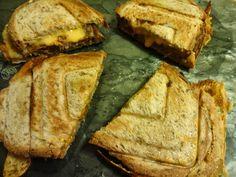 Edel's Mat & Vin : Sandwich med løvstek & cheddar !!