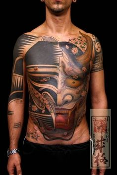 Demon-Shige-Hannya-Tattoo-On-Man-Full-Body.jpg (683×1024)