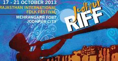Are you fanatical about folk music? Get ready to enjoy a delightful gala time in Jodhpur at the Rajasthan International Folk Festival (RIFF) 2013. This cultural event will begin from 17th October and last till 21st October and the city welcomes about 250 musicians and artists from all across the globe.