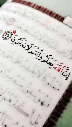 Beautiful Quran Quotes, Quran Quotes Love, Funny Arabic Quotes, Islamic Love Quotes, Islamic Inspirational Quotes, Words Quotes, Quran Arabic, Islam Quran, Quran Karim