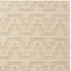 Isaac Mizrahi by Safavieh Aztec Stripe Beige/ Camel Wool Rug (8' x 10') - Overstock™ Shopping - Great Deals on Safavieh 7x9 - 10x14 Rugs