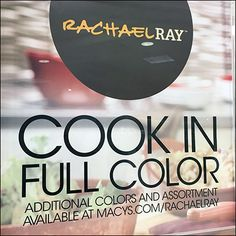 Rachael Ray Cookware In Full Color – Fixtures Close Up Wire Shelving, Visual Merchandising, Cookware, Close Up, Shelf, Retail, Color, Diy Kitchen Appliances, Kitchen Gadgets