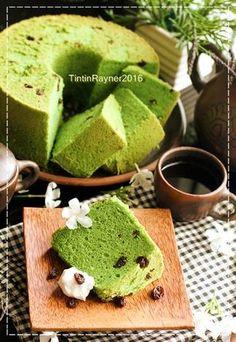 Chiffon Green Tea Matcha soft and moist