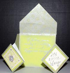 Diamond origami fold - Birthday