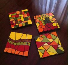 Cube, Toys, Ideas, Arts And Crafts, Trays, Mosaics, Toy, Games, Thoughts