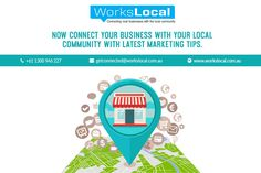 Boost your business visibility through various #social_media platforms using smart social media #marketing_tips. Workslocal offers the local area #marketing #services, Social media marketing, and Paid Facebook campaigns to their clients. Their marketing #experts give you complete strategy, build of using latest #marketing_tips. They will offer every service to their clients that is necessary for their business growth. Contact them today for your first business grow.