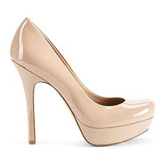 Jessica Simpson... I don't particularly like her shoes, but this is a great neutral pump ~