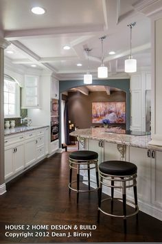 Contemporary-Traditional Kitchen