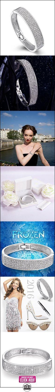 P&M-Amor de la Nieve-Pulsera Mujer Joyeria Chapado en Oro Blanco  ✿ Joyas para mujer - Las mejores ofertas ✿ ▬► Ver oferta: https://comprar.io/goto/B01500Y2ZS