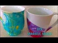 DIY crafts | Marble Mug - YouTube