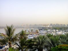 fabulous outlook from the suite in the Park @HyattPR #Dubai #Travel