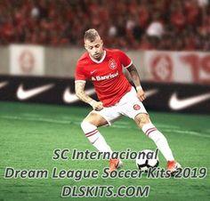 SC Internacional Kits for Dream League Soccer League Gaming, Sc Internacional, Soccer Logo, Soccer Kits, Goalkeeper, Running, Sports, Goaltender, Hs Sports