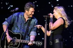 Everyday people helping people.  The benefit concert raises money for the tornado victims.  The songs are dedicated to the 24 who could not attend because they were taken by the storm.  Thank you United Way and Blake Shelton.