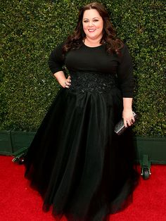 Melissa McCarthy at the 2014 Emmy's