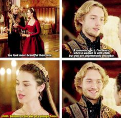 Francis and Mary - Reign Mary Stuart, Mary Queen Of Scots, Queen Mary, Red Queen, Movies Showing, Movies And Tv Shows, Isabel Tudor, Reign Over Me, Reign Mary And Francis