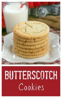 about Butterscotch Cookies on Pinterest   Oatmeal Butterscotch Cookies ...