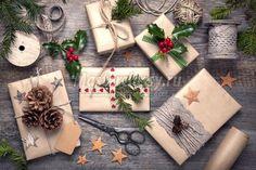 Упаковка для новогодних подарков: ТОП-10 с фото