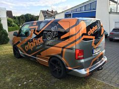Alphafoil branding VW T5   DESIGN ATELIER TTSTUDIO