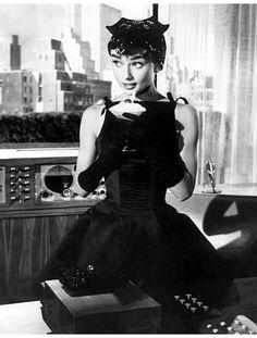 Audrey Hepburn: style icon.