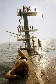 Photographer | Frank Kappa 00130574 | Take a Dip.  Zadar, Croatia.