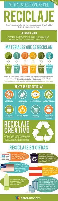 EL RECICLAJE ES IMPORTANTE EL PODER DE UN ÁRBOL #medioambiente #parcelas #naturaleza #ecología #planeta #cuidaelplaneta #infografia #pinterest #lifestyle #enjoy #amor #ambiente #chile #arbol #reciclaje #infografiareciclaje
