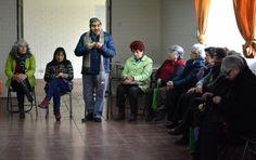 Reunión Teleasistencia en Luis Cristain Martínez