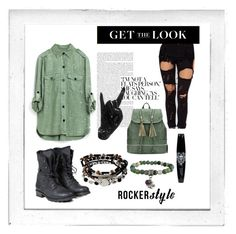 """""""Rocker Style, 12.30"""" by bellatrxl ❤ liked on Polyvore featuring Polaroid, Thelermont Hupton, PLDM by Palladium, Kenneth Cole, Zad, rockerchic and rockerstyle"""