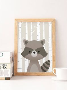 Woodland Animals Set Nursery Art Prints Woodland Creatures Art for Kids Room Woodland Baby Shower Print Bear Woodland nursery print Kids Room Art, Art Wall Kids, Nursery Wall Art, Nursery Decor, Art For Kids, Woodland Creatures, Woodland Animals, Woodland Baby, Images Murales