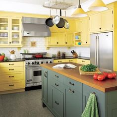 charming yellow kitchen | Photo: Alex Hayden | thisoldhouse.com | from 26 Low-Cost, High-Style Kitchen Upgrades
