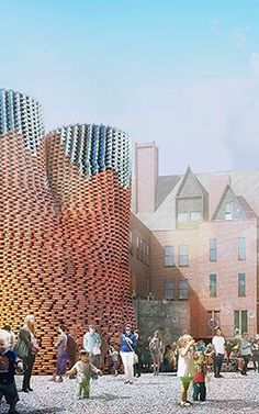 This Crazy Brick Structure Is Grown From Mushrooms, And Can Keep Itself Cool All Summer | Co.Exist | ideas + impact