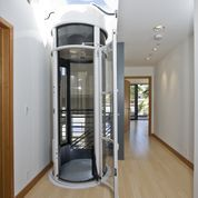 Fancy home elevators home lifts vacuum pneumatic for Modern home elevators