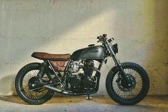 Honda CB550 Caferace style