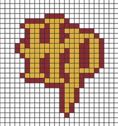 DIY: Harry Potter magnets with Hama beads. - I& varnished - DIY: Harry Potter magnets with Hama beads. – I& varnished - Hama Beads Patterns, Hama Beads Design, Beading Patterns, Art Patterns, Knitting Patterns, Blanket Patterns, Knitting Charts, Mosaic Patterns, Loom Patterns