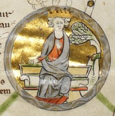 Edmund I, was King of the English from 939 until his death. His epithets include the Elder, the Deed-doer, the Just, and the Magnificent. Edmund was the son of Edward the Elder and his third wife Eadgifu of Kent, and a grandson of Alfred the Great. His father died when he was young, and was succeeded by his oldest son Æthelstan. Edmund came to the throne upon the death of his half-brother in 939, apparently with little opposition.