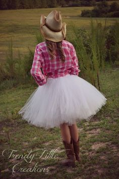 maybe something like this for the Father/Daughter Hoedown dance