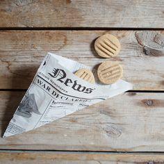 Mikuláš v Sonnentoru letos rozdával i tyto sušenky. Jsou z jejich směsí koření na koláče a keksy se skořicí, muškátovým oříškem ...
