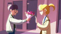 😢 #그림 #일러스트 #낙서 #캐릭터 #캐릭터디자인 #컨셉 #컨셉아트 #디자인 #스케치 #데일리 #art #illust #illustration #doodle #character #characterdesign #art #design #sketch #daily #사랑 #고백 #커플 #꽃 #love #propose #couple #flower